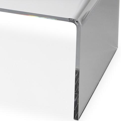 4a63cb11ce60a Butler Specialty Crystal Clear Acrylic Coffee Table Butler Loft   Target