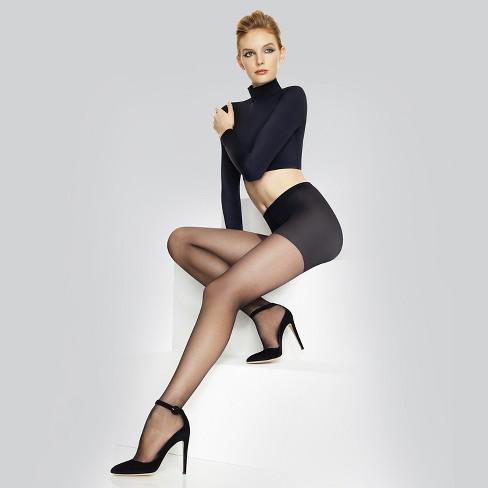 a7848ad555e86 Hanes Premium Women s Perfect Seasonless Tights Black -Q01779   Target