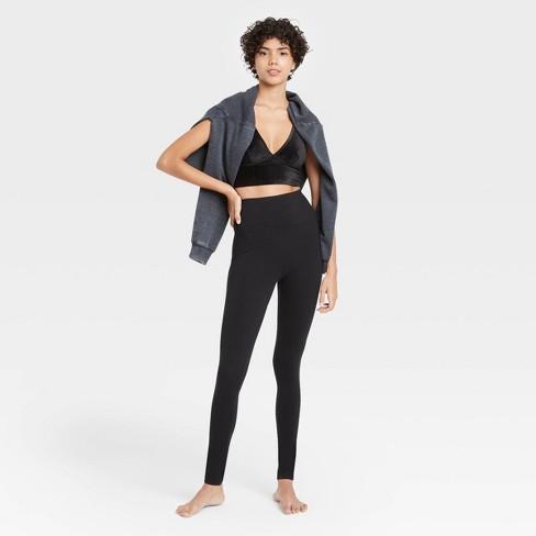 Women's Lounge Leggings - Colsie™ Black - image 1 of 3