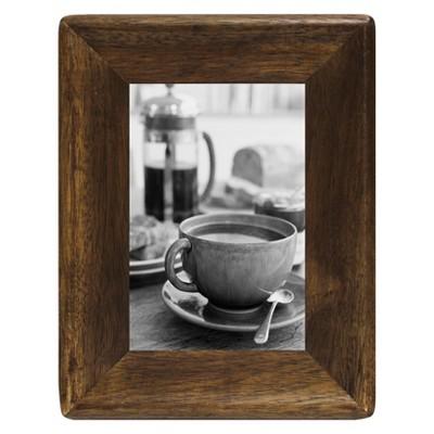 4  x 6  Rounded Corner Frame Golden Walnut - Threshold™