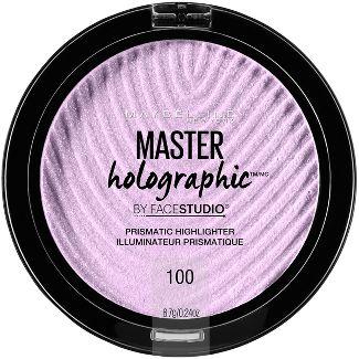 Maybelline Facestudio Master Holographic Prismatic Highlighter 100 Purple  -0.24oz.