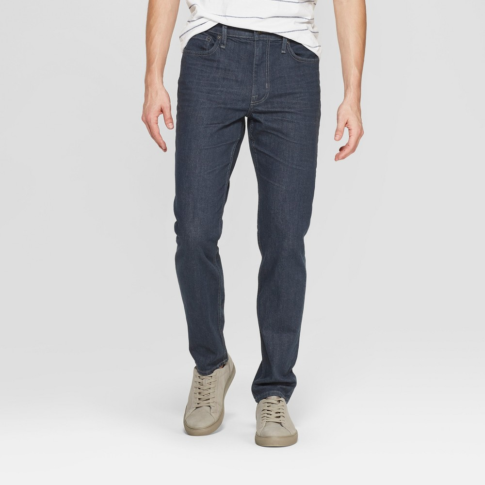 Men 39 S Slim Fit Jeans Goodfellow 38 Co 8482 Blue Gray 42x32