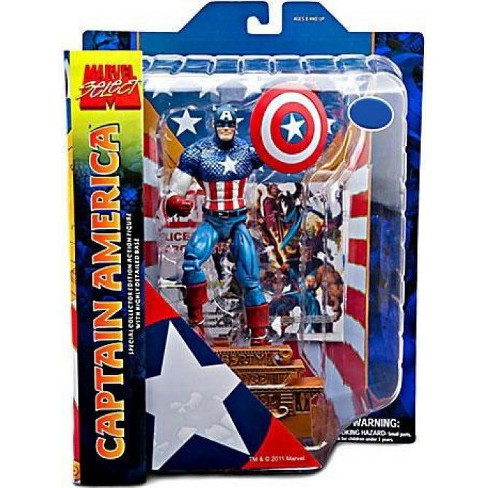 Marvel Select Captain America Action Figure [Exclusive] - image 1 of 3