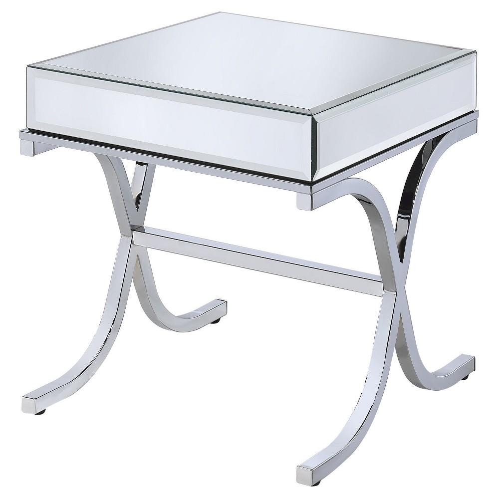 Cheap End Table Chrome - Acme Furniture