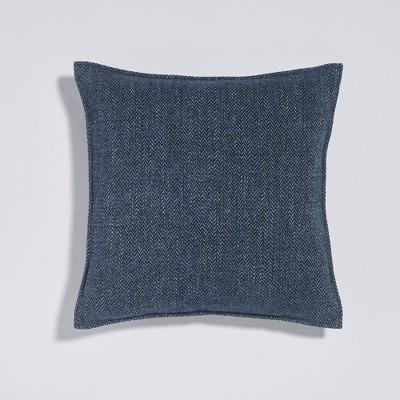 """18""""x18"""" Apalche Plush Throw Pillow Blue - Sure Fit"""
