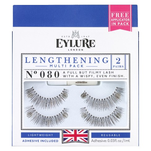 bb18315f043 Eylure Naturalities Super Full False Eyelashes 2 Pair - 080 : Target