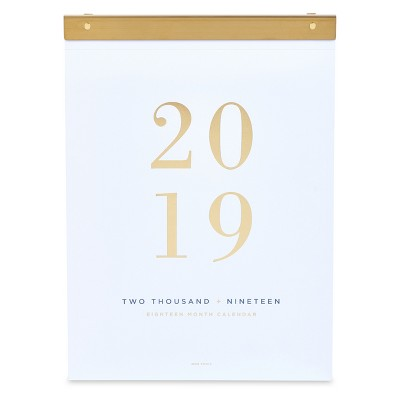 Wall Calendar West Emory White