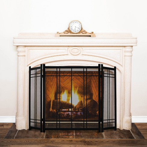 Marvelous Pleasant Hearth Preston Fireplace Screen Vintage Iron Beutiful Home Inspiration Ommitmahrainfo