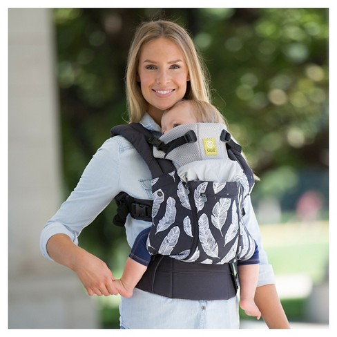 Lillebaby 6 Position Complete All Seasons Baby Child Carrier Charcoal With Feathers