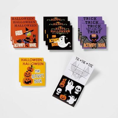 12ct Mini Activity Book Halloween Party Favors - Hyde & EEK! Boutique™