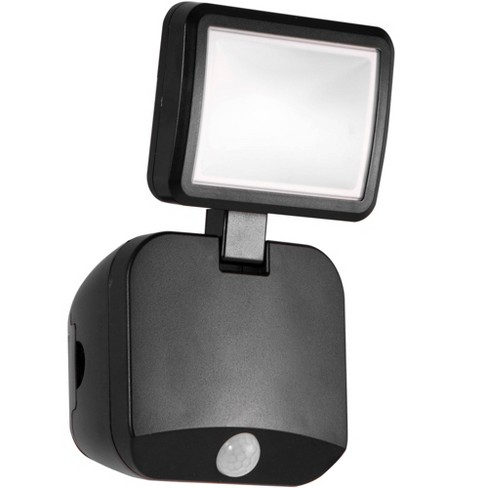 Energizer 250 Lumens Outdoor LED Motion Sensing Single Head Security Light Black - image 1 of 4