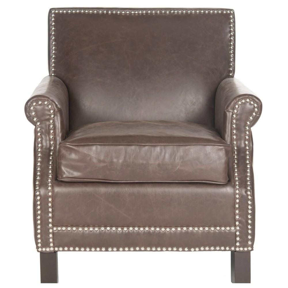 Savannah Club Chair - Espresso (Brown) - Safavieh