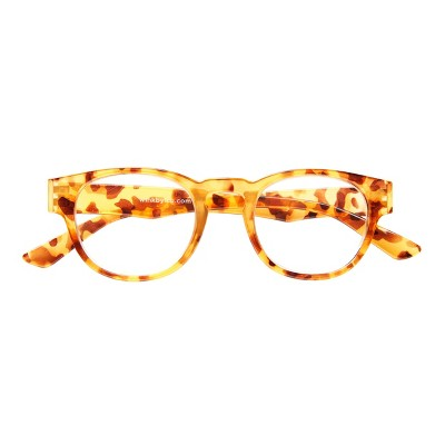 ICU Wink Rocklin Tortoise Floral Reading Glasses +1.25