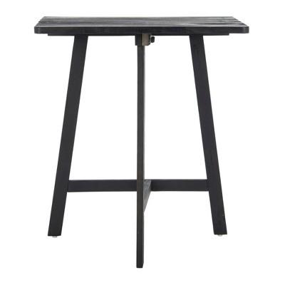 Benton Balcony Table - Dark Slate Gray - Safavieh
