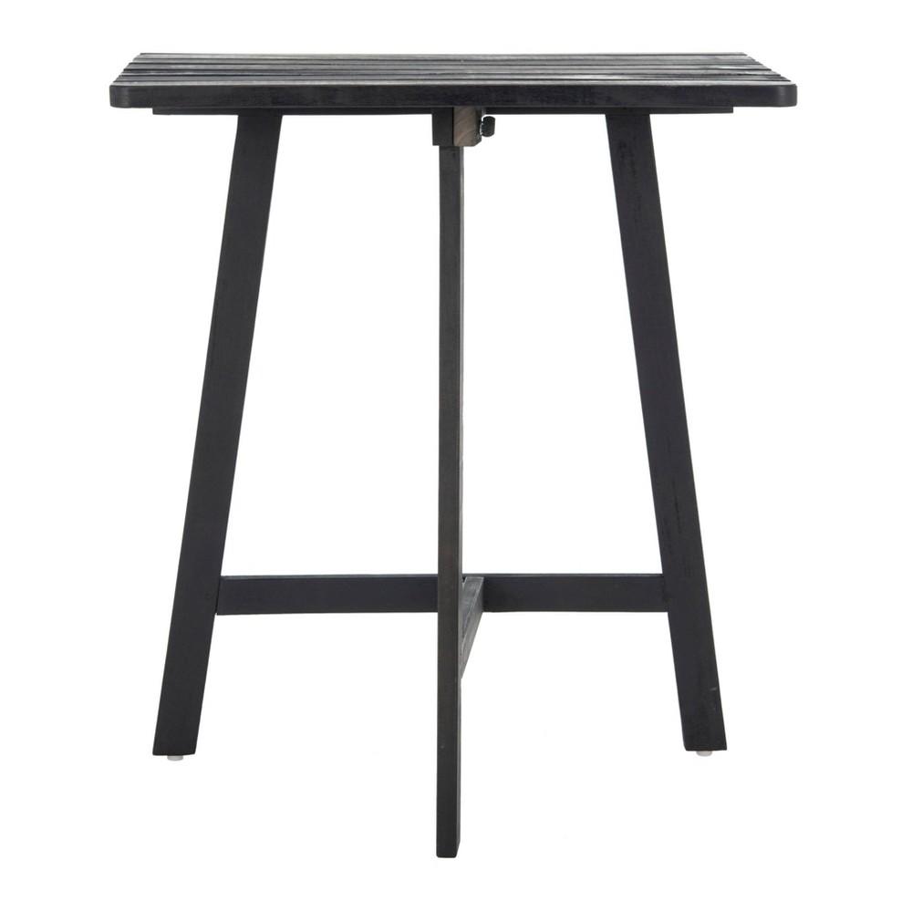 Image of Benton Balcony Table - Dark Slate Gray - Safavieh