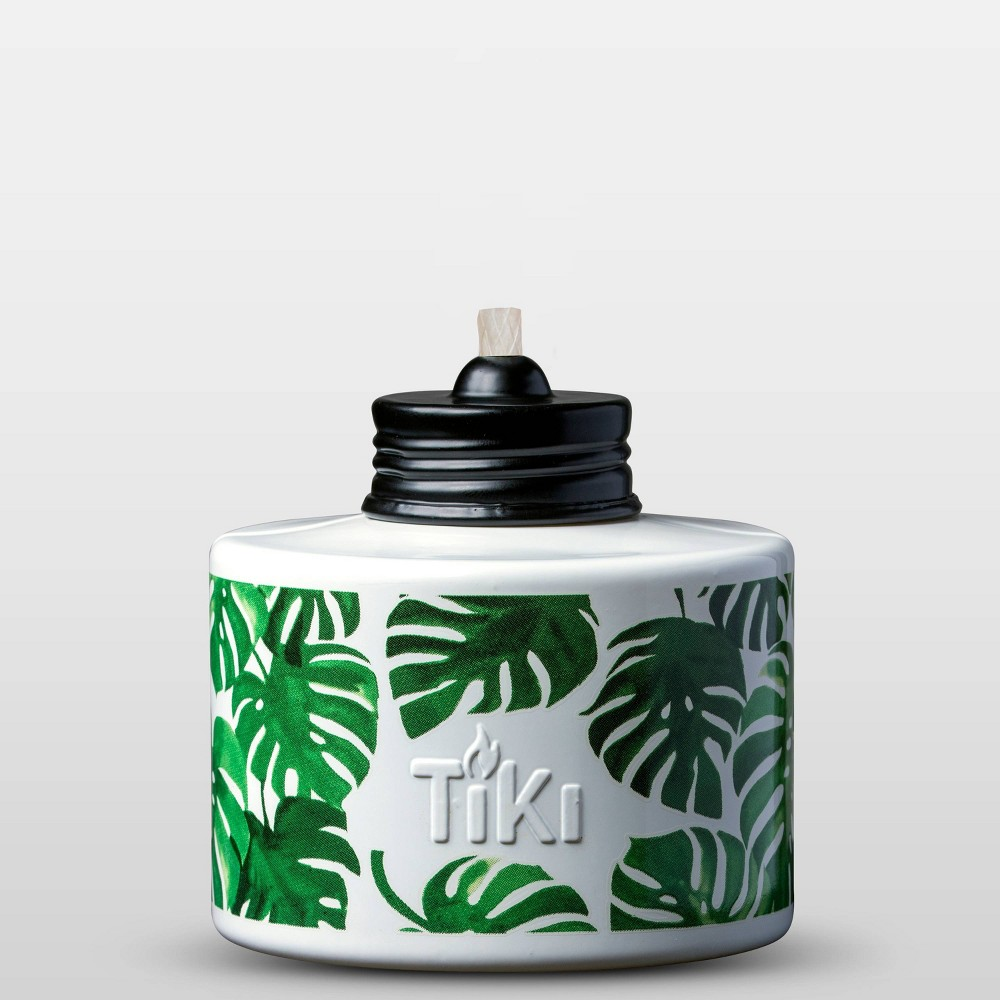 Image of Trial Pack Torch and Fuel Light Palm - TIKI, White
