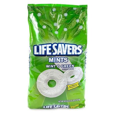 Life Savers Wint-O-Green Mint Candies - 50oz