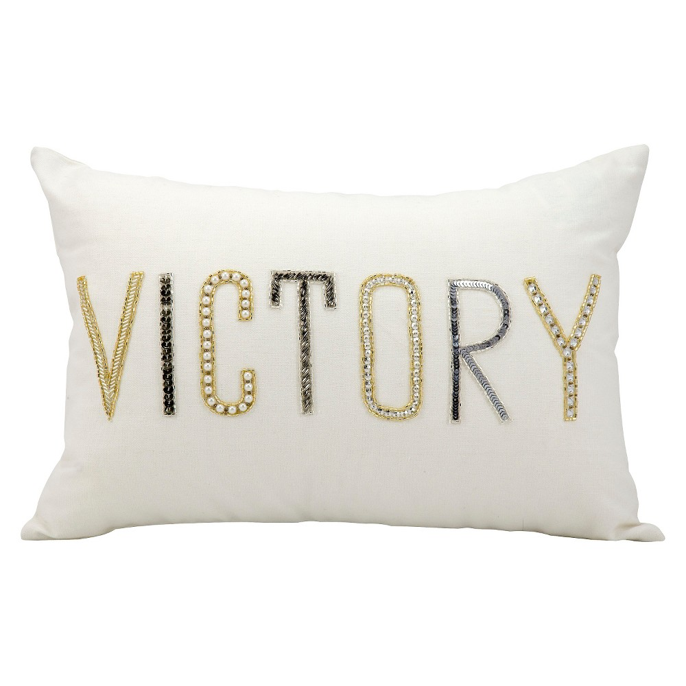 "Image of ""Victory Throw Pillow (12""""x18"""") - Nourison"""