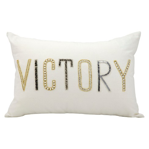 "Victory Throw Pillow (12""x18"") - Nourison - image 1 of 1"