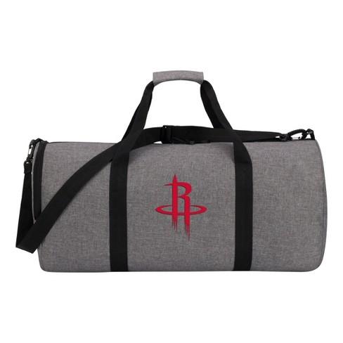 NBA Houston Rockets Gray Barrel Duffel Bag - image 1 of 4