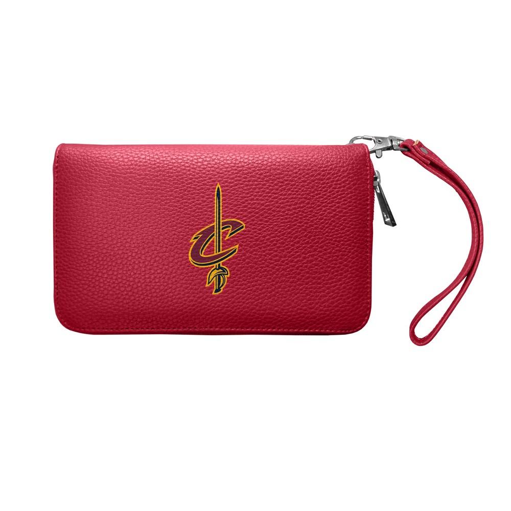 NBA Cleveland Cavaliers Zip Organizer Pebble Wallet, Girl's