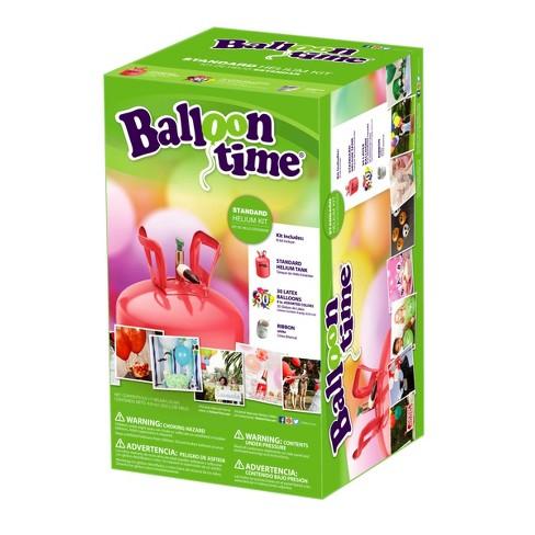 Balloon Time Helium Tank Target
