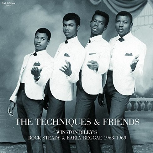 Techniques & Friends - Winston Riley's Rock Steady & Early R (CD) - image 1 of 1