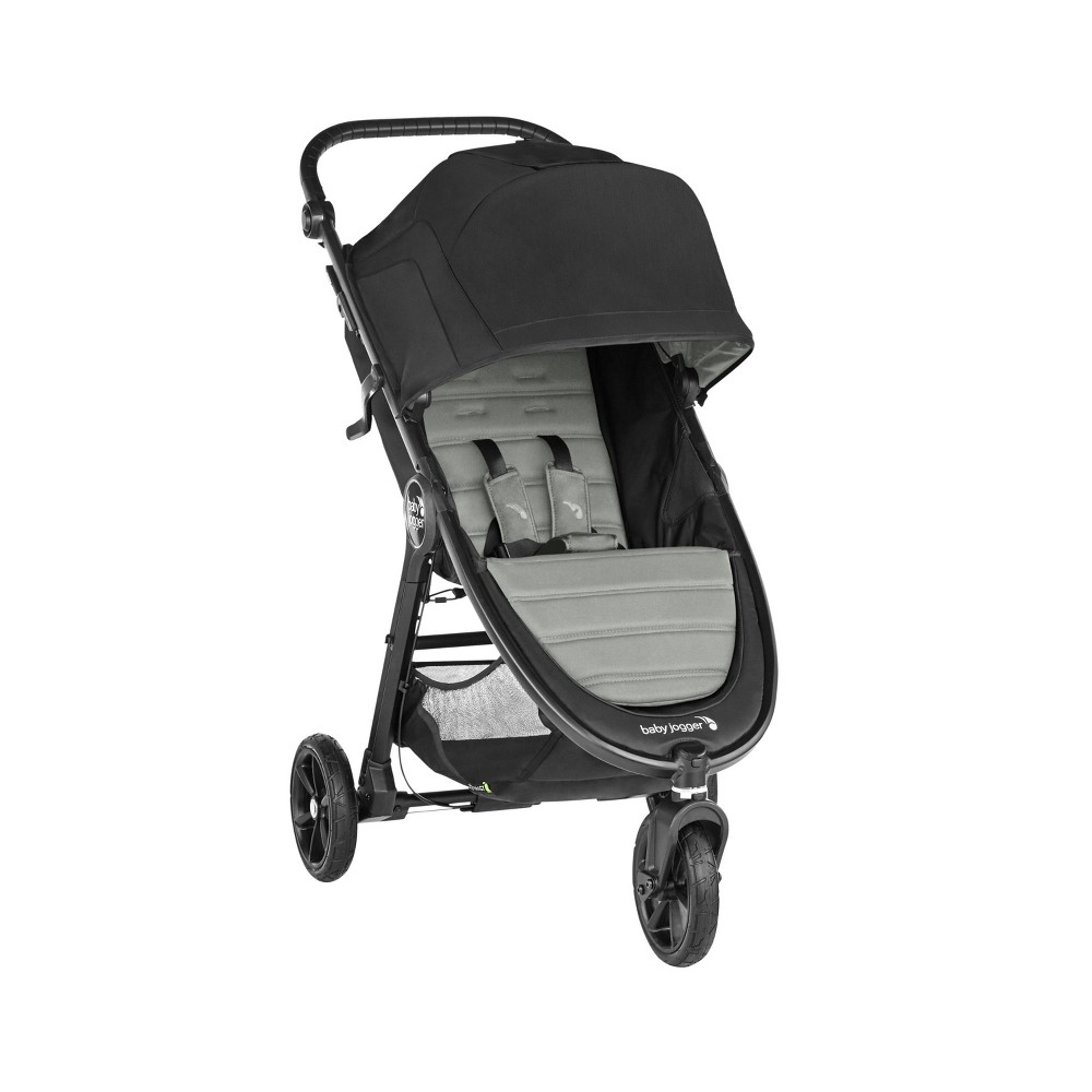 Image of Baby Jogger City Mini GT Single Stroller - Slate, Grey