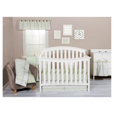 Trend Lab 3pc Crib Bedding Set – Sea Foam