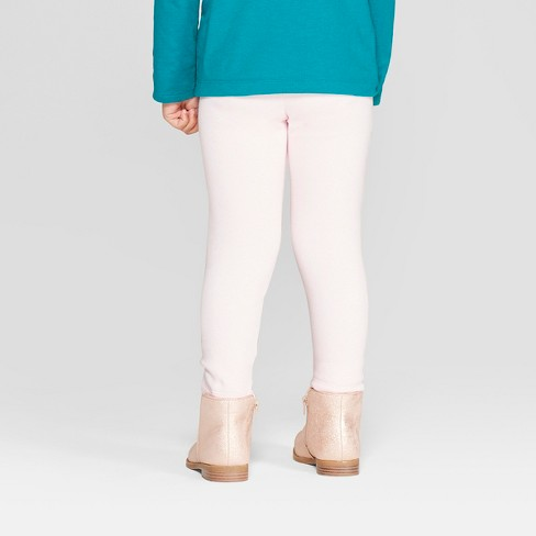 61341288722e01 Toddler Girls' Cozy Leggings - Cat & Jack™ Light Pink : Target