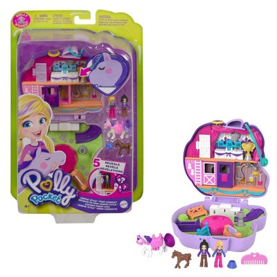 Polly Pocket Compact Horse Show Playset