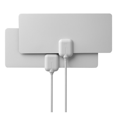 One For All 14502 Indoor Flat HDTV Antenna 2-Pack