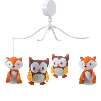 Bedtime Originals Friendly Forest Musical Mobile - Orange