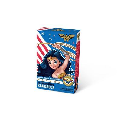 DC Comics Wonder Woman Bandages - 20ct