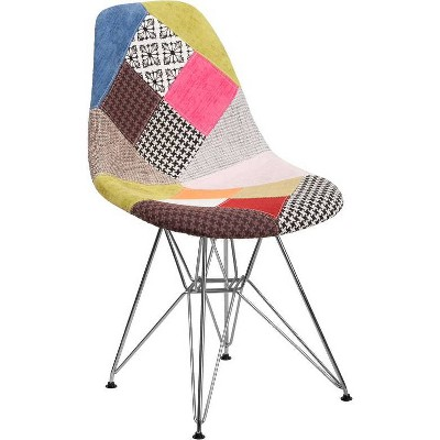 Elon Series Fabric Chair Milan Patchwork - Riverstone Furniture Collection