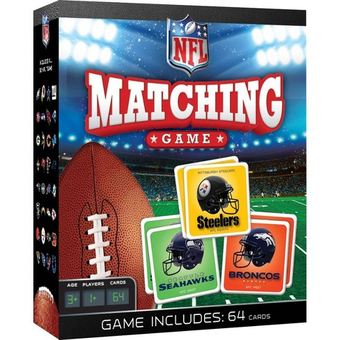 NFL League Matching Game - image 1 of 3