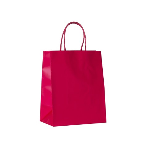 Small Solid Gift Bag Red - Spritz™ - image 1 of 1