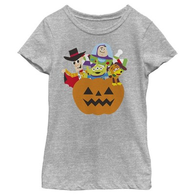 Girl's Toy Story Halloween Toy Treats T-Shirt