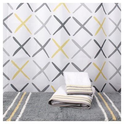 Gen Fabric Shower Curtain White - Saturday Knight Ltd.