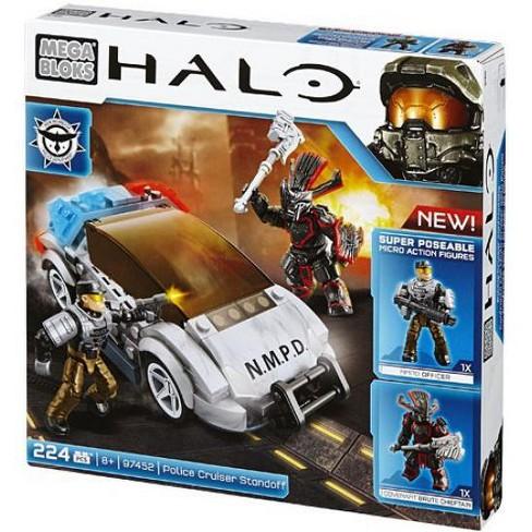 Mega Bloks Halo NMPD Police Standoff Set #97452 - image 1 of 4