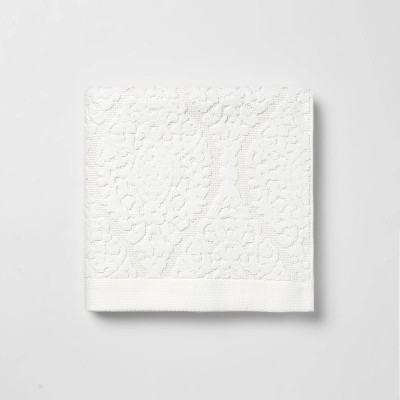 Ogee Bath Towel White - Threshold™