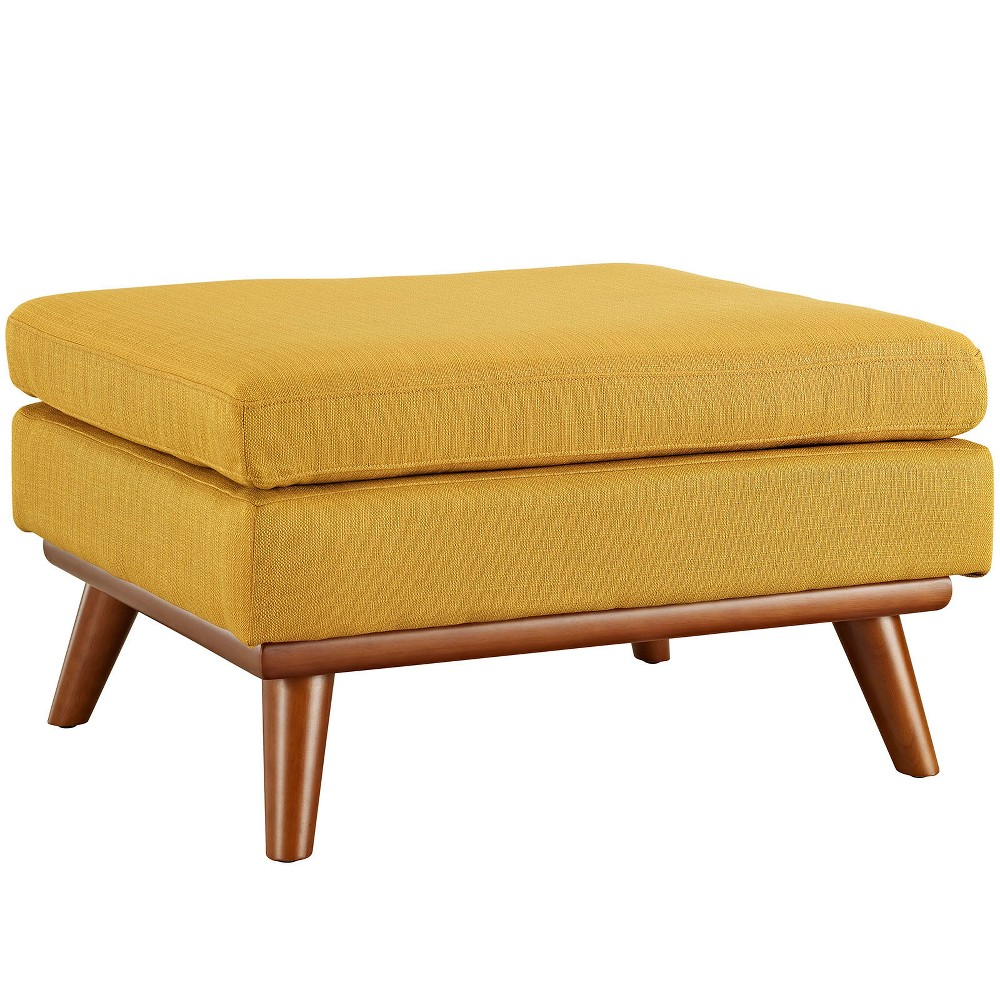Engage Upholstered Fabric Ottoman Citrus - Modway