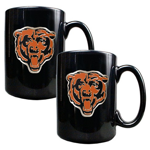 NFL 2pk 15oz Black Coffee Mug Set - image 1 of 1