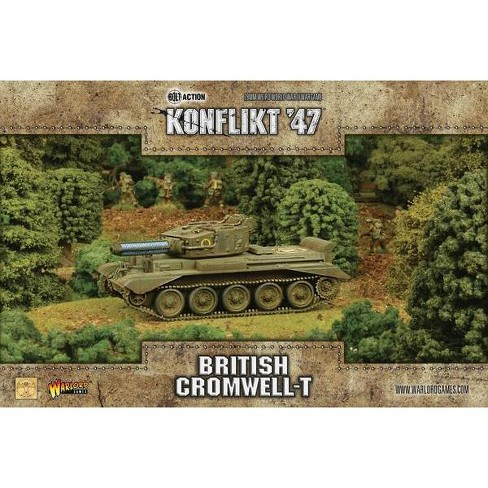 British Cromwell w/Tesla Cannon Miniatures Box Set - image 1 of 1
