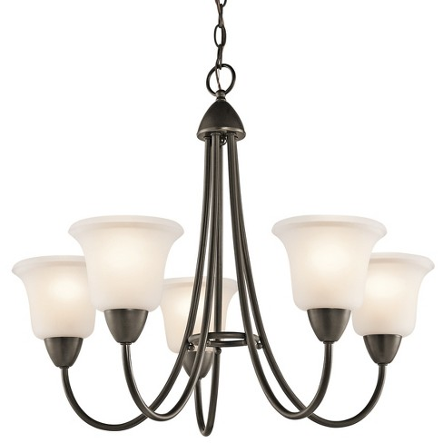 "Kichler 42884 Nicholson 5 Light 25"" Wide Single-Tier Chandelier - image 1 of 2"