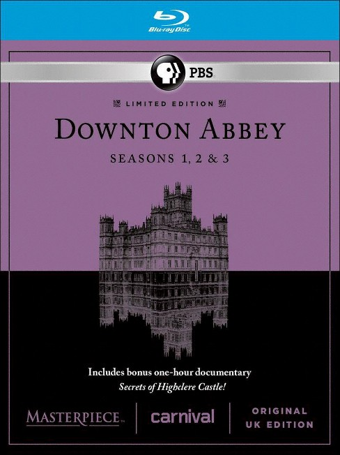 Masterpiece: Downton Abbey - Seasons 1-3 [9 Discs] [Blu-ray] - image 1 of 1