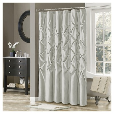 Piedmont Polyester Shower Curtain - Gray