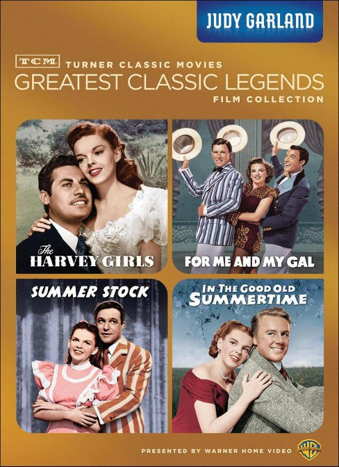 TCM Greatest Classic Legends Films Collection: Judy Garland [4 Discs] - image 1 of 1