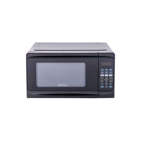 Proctor Silex 0.7 Cu.ft Black Digital Microwave Oven Cooking Kitchen Decor New