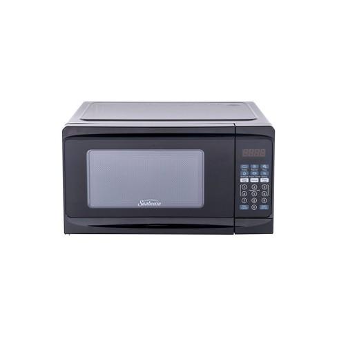 Sunbeam 0.7 cu ft 700 Watt Microwave Oven - Black - SGCMV807BK-07 - image 1 of 4